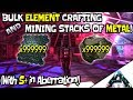ARK Aberration Element Crafting & Mining TONS of metal (With Structures Plus Mod) + Silica Farming!