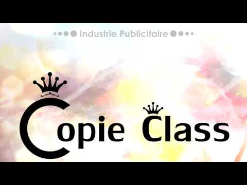 Copie Class Présentation des Travaux Publicitaires