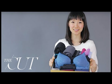 marie kondo folds a perfect underwear drawer youtube. Black Bedroom Furniture Sets. Home Design Ideas