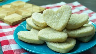 Cottage Cheese Cookies Heart