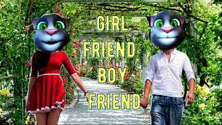GIRL FRIEND BOY FRIEND JOKES I PREMI PREMIKA JOKES I FUNNY HINDI JOKES I TALKING TOM I FUNNY VIDEO I