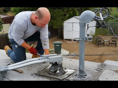 Roofing Repairs:Roofer shows step by step 3 coursing technique forCommercial flat roofs