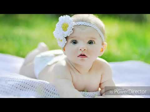 Showing cute baby photo