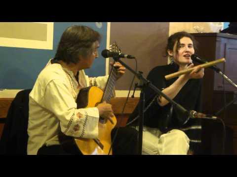 La Rafael and Ingrid perform at Cafe Mediterraneum