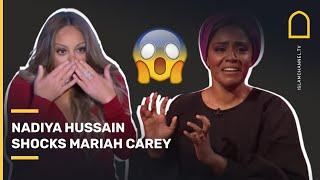 Muslim chef Nadiya Hussain SHOCKS Mariah Carey