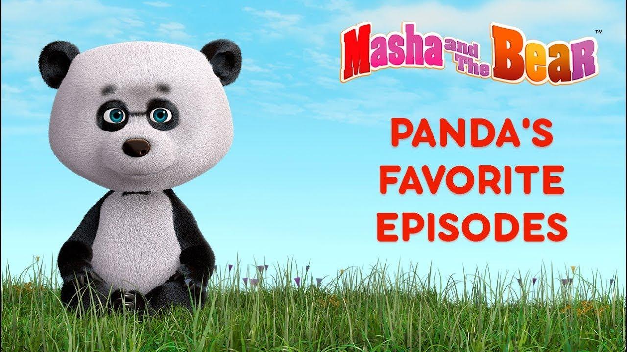 Masha and The Bear - Panda's favorite cartoons