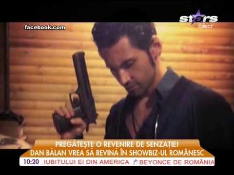 Dan Bălan pregăteşte o revenire de senzaţie în showbiz-ul românesc!
