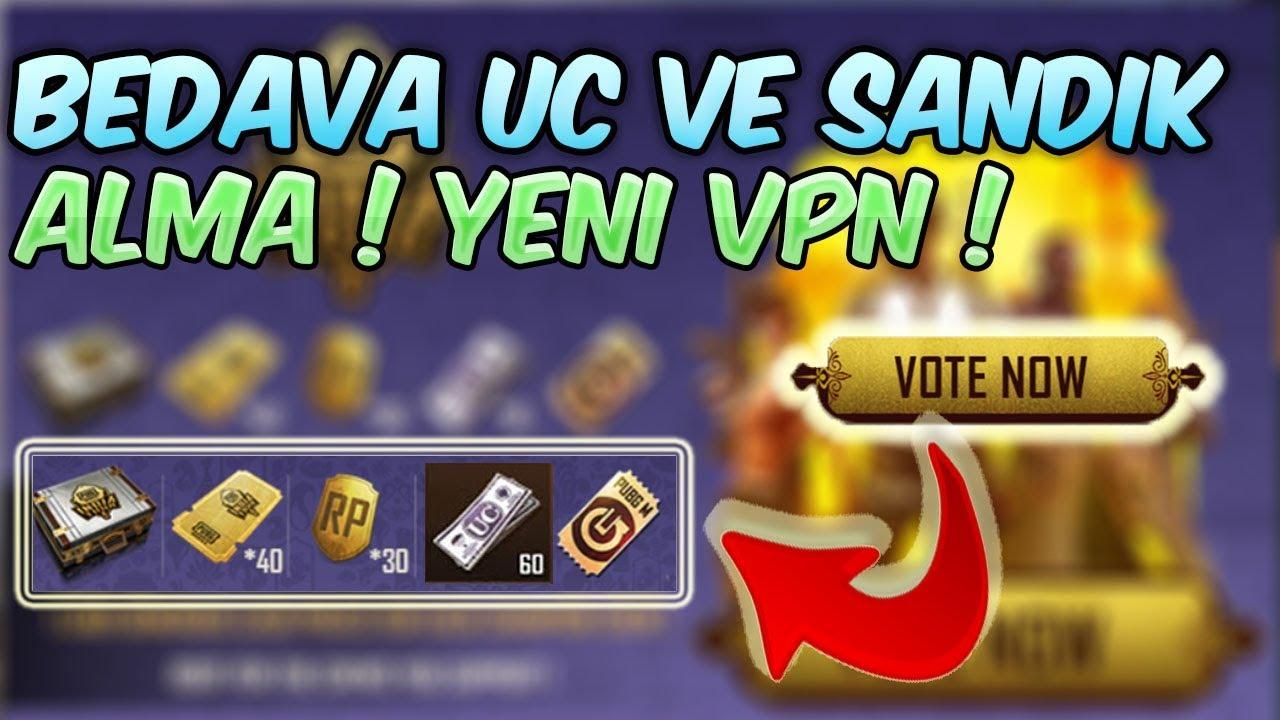 BELEŞ UC VE SANDIK ALMA YENİ VPN TAKTİĞİ ! PubgMobile