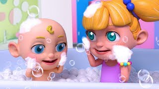 """Yes Yes Bath Song"" + 30min More Baby Shark Nursery Rhymes Songs for Children"