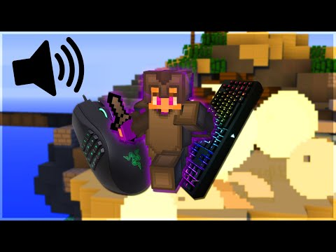 Keyboard And Mouse Sounds W/ Handcam (Solo Bedwars)