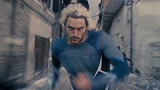 Quicksilver All Powers Scenes | MCU Compilation [HD]