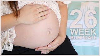 PREGNANT BELLY BUTTON POP! - 26 Week Bumpdate
