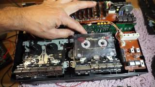 Panasonic RX-CW200L. 4-бөлім. Жөндеу және подстройка жылдамдығын тартажонғыштар.