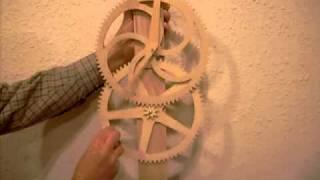 Wooden Gear Clock Test Mule