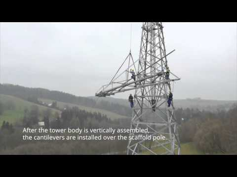 UPVISION - The assembly of power transmission towers