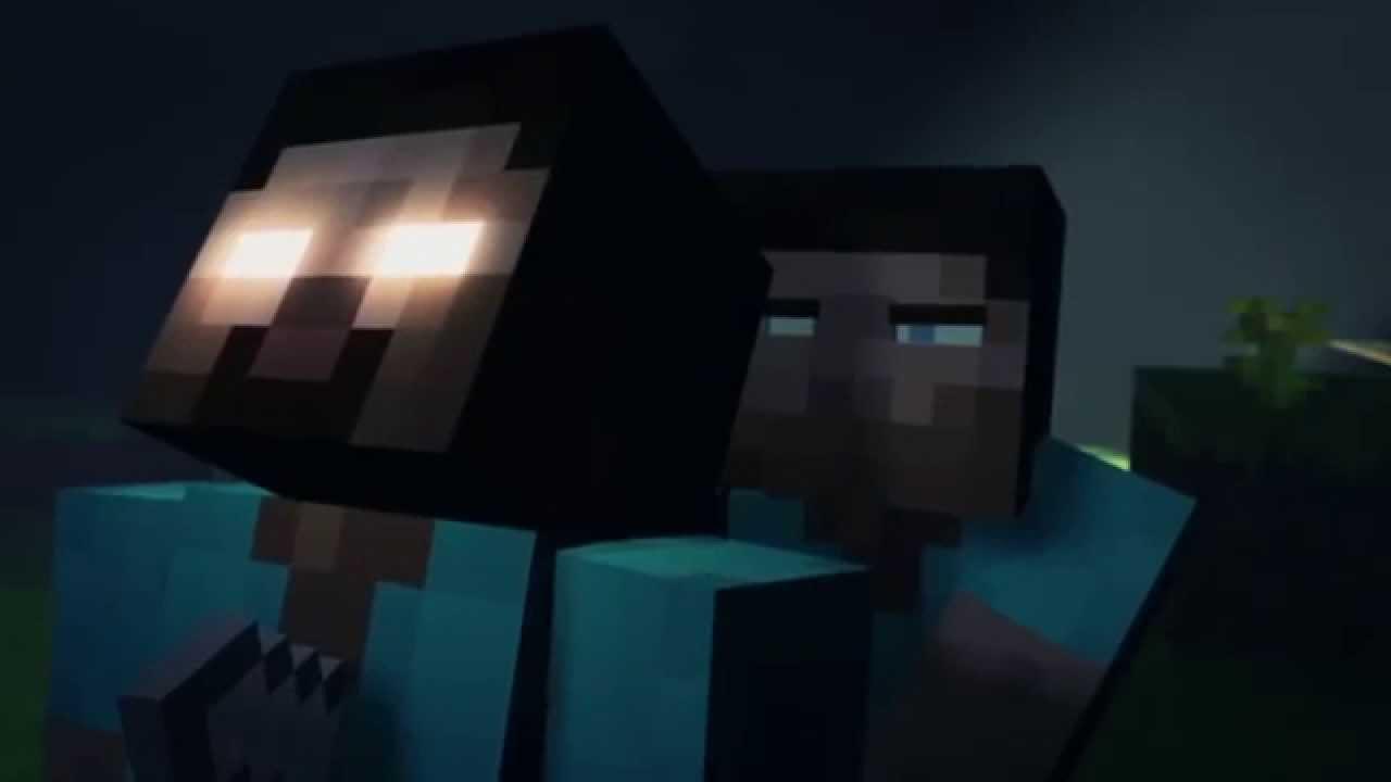 Steve vs Herobrine HD Minecraft Cube Land - YouTube