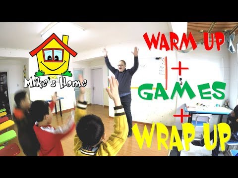 Warm Up + Games + Wrap up - DEMO class - Teaching English tips - ESL tips