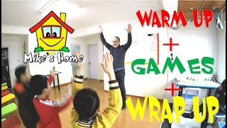 Warm Up   Games   Wrap Up   Demo Class   Teaching English Tips   Esl Tips