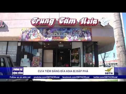 PHÓNG SỰ ĐẶC BIỆT: Cửa tiệm băng đĩa của Trung Tâm Asia bị đập phá