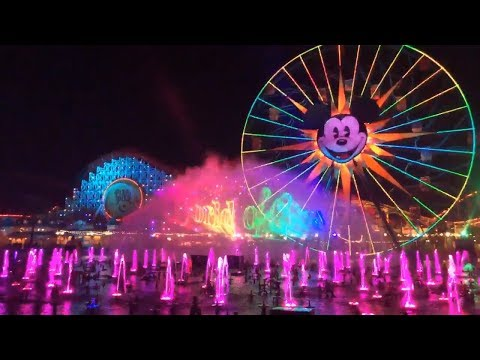 World Of Color Returns (2/22/2019) — Live From Disney California Adventure