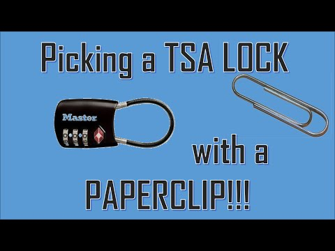How To Open A Tumi Tsa Lock When You Forgot The Number