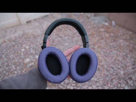 Brainwavz Replacement Memory Foam Earpads Review - Great For ATH-M50x's