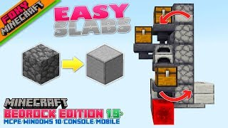 Tutorial | HOW TO MAKE SMOOTH STONE | Minecraft Bedrock Edition Guide (MCBE)