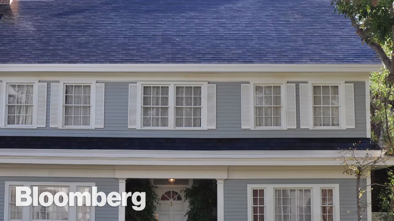 Solar Panel Roof Shingles >> Tesla S Solar Roof Is Cheaper Than Expected Youtube