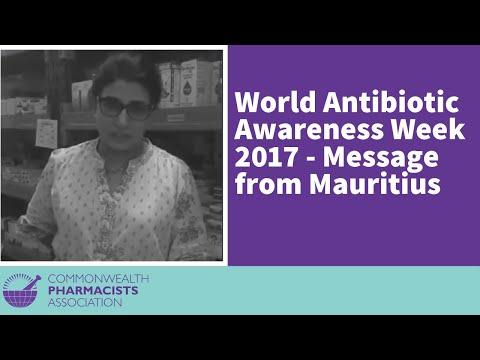 World Antibiotic Awareness Week 2017 -  Message from Mauritius