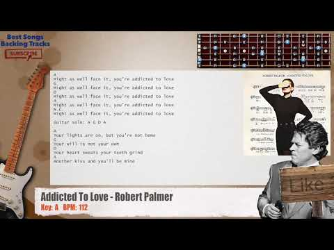 Download Addicted To Love Robert Palmer Guitar Backing Track