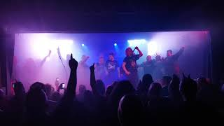 'SEX &  VIOLENCE stage invasion The Exploited, @ the hairy dog ,9/3/18
