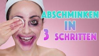 SCHMINK DICH AB IN 3 SCHRITTEN | meine Abschminkroutine | Hatice Schmidt