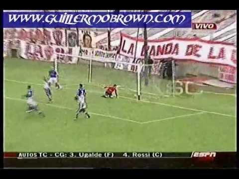 Fecha 22 - Huracan 1 - 1 Guillermo Brown (Gol Walter Garcia)