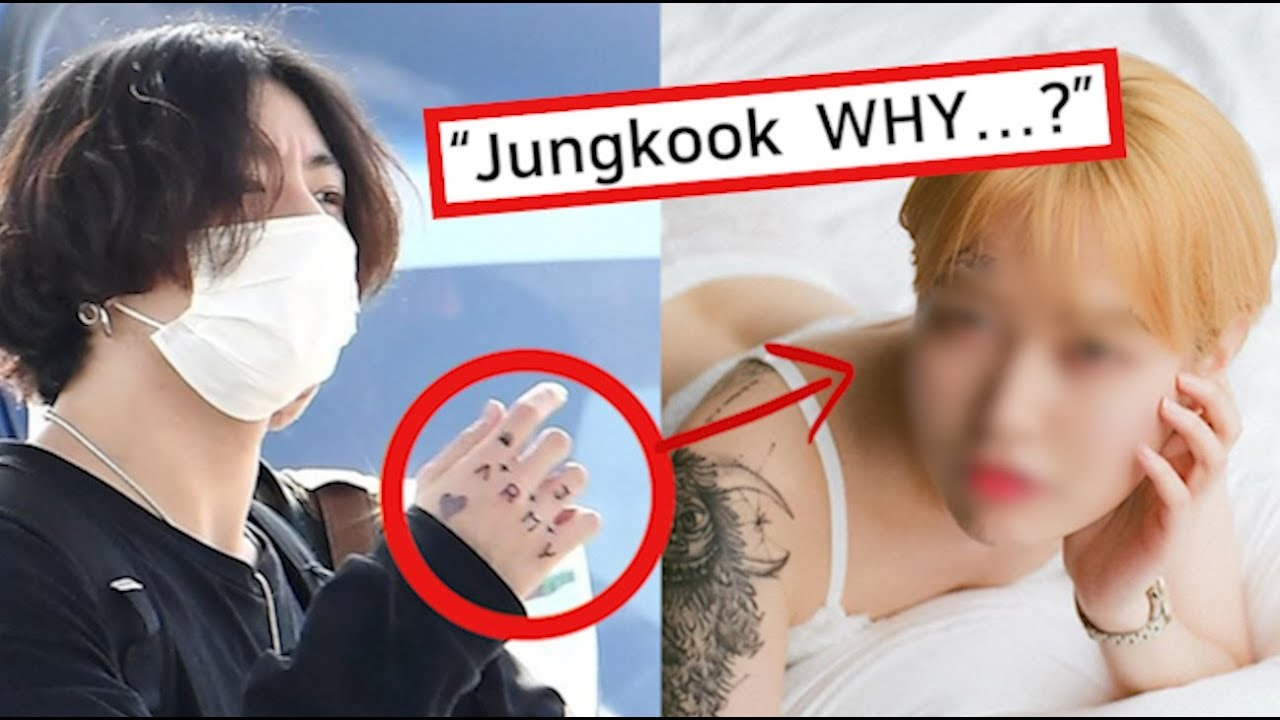 Jungkook Tattoo Shop: Jungkook's Tattoo Pissed ARMY Off? Unveiled Truth Of His
