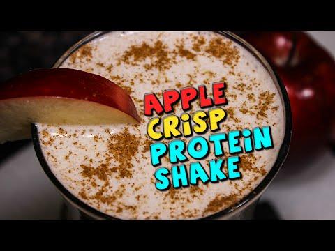 Apple Crisp PROTEIN Shake Recipe (High Fiber)