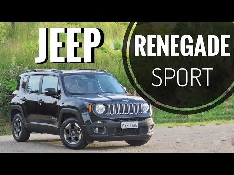 Jeep Renegade Sport Manual 2018 // Teste Canal Top Drive