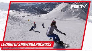 Francesca Gallina: la curva nello Snowboardcross