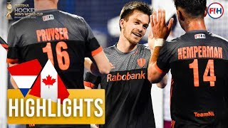 Netherlands v Canada | Odisha Men's Hockey World Cup Bhubaneswar 2018 | HIGHLIGHTS