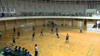 2012全国高校総体ハンドボール 近江兄弟社vs湯沢 2/4