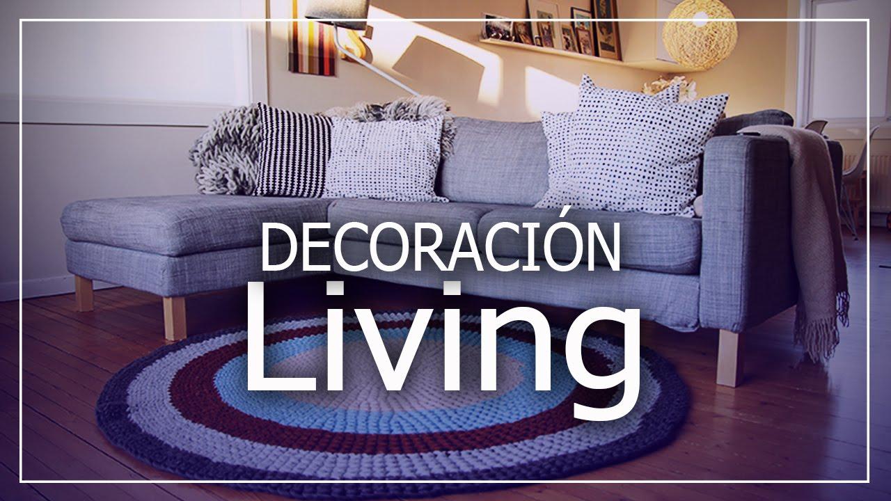 Decoraci n living tejidos a crochet y dos agujas dise os for Tejidos decoracion hogar