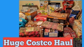 Huge Costco Haul!! Over $500 spent!