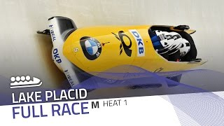 Lake Placid | BMW IBSF World Cup 2016/2017 - 4-Man Bobsleigh Heat 1 | IBSF Official