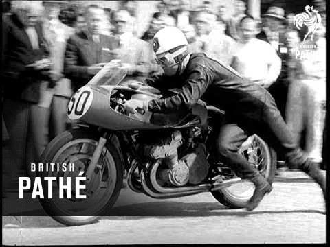 World Of Sport - Duke Wins Senior T.T. (1955)