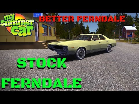 Stock Ferndale - BETTER FERNDALE - My Summer Car #120 (Mod)