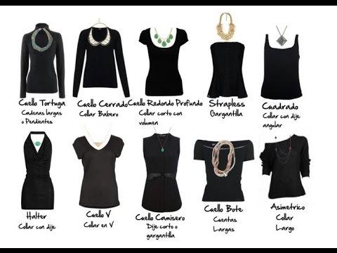 Tipos de collares para vestidos