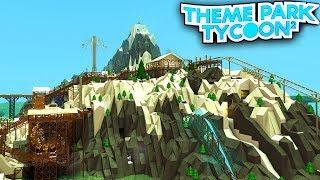 MOUNTAIN SKI LODGE dans Theme Park Tycoon 2!! - Roblox