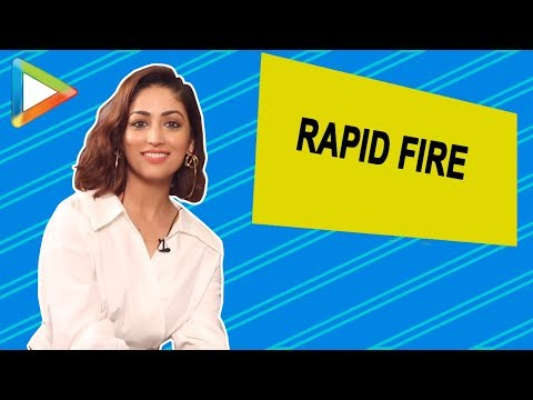 SUPERB - Yami Gautam's Mind-Blowing RAPID FIRE Answers | Vicky Kaushal | URI