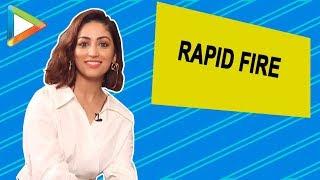 SUPERB - Yami Gautam's Mind-Blowing RAPID FIRE Answers | Vicky Kaushal | URI
