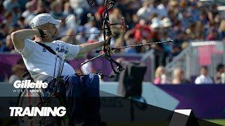 para archery with w1 world no 1 david drahoninsky   gillette world sport