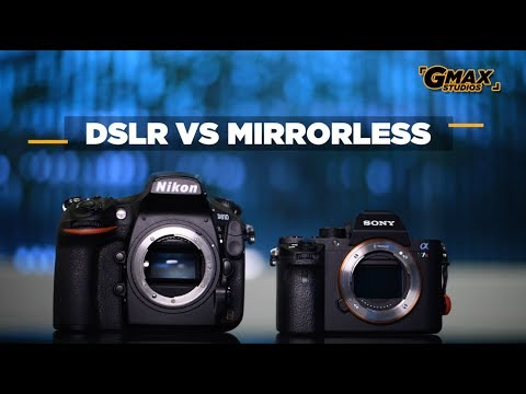 DSLR vs Mirrorless Cameras | Comparison and differences